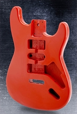 Lightweight Vintage Stratocaster Style Body HSH Fiesta red