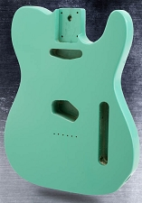 Lightweight Vintage Telecaster Style Body Seafoam Green