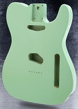Lightweight Vintage Tele Body Surf Green