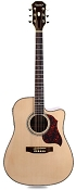 Cutaway Acoustic-Electric, Solid Spruce Top, Mahogony back and sides