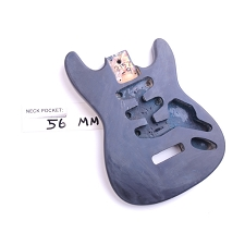 "Satin Finished, ""Mini Stratocaster Style"" Body"