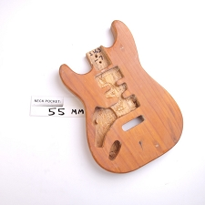 "Satin Finished, ""Stratocaster Style"" Body, HSH - LEFTY"