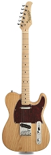 XV-820 Solid Ash Clear Gloss Maple Fingerboard - Blem