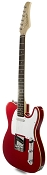 XV840 Solid Alder DOUBLE Bound Body, Candy Apple Red, Rosewood Fingerboard