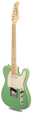 XV840 Solid Alder DOUBLE Bound Body, Surf Green, Maple Fingerboard