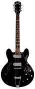 XV-910 Semi Hollowbody Alnico Dogear P90s Gloss Black -Blem