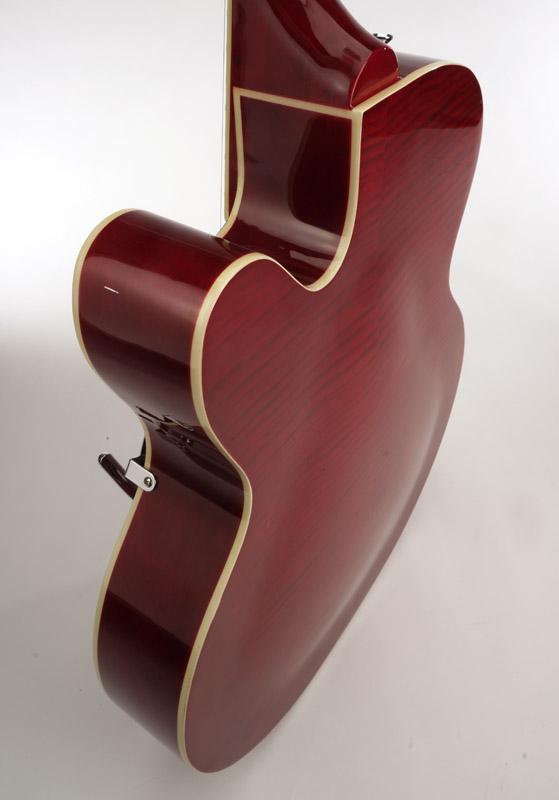 Xaviere Xv 975 Big Body Jazz Guitar Gold Foil Pickups