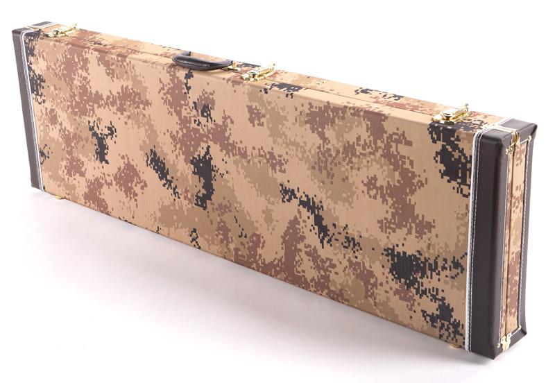 premium cloth desert storm camo p j bass hardshell case our best. Black Bedroom Furniture Sets. Home Design Ideas