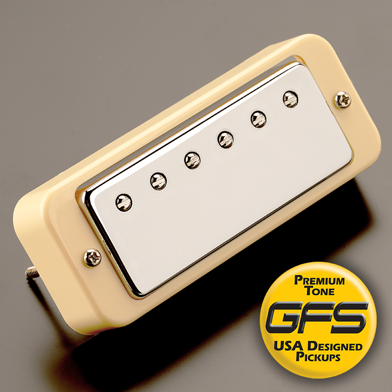 Cream_KPE56 kp fat mini overwound alnico cream ring kwikplug™ ready Telecaster Wiring Harness at gsmx.co