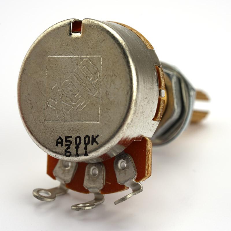 Fender Locking Tuners >> XGP Custom Taper LONG Shaft Pot A500K- Humbucker Volume- Our Best!
