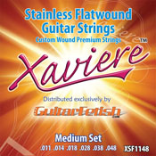Stainless Flatwound Guitar strings