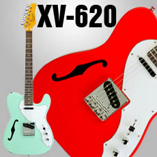 XV-620 Series Semi Hollow Cutaway