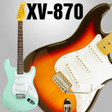 XV-870 Double Cutaway Solid Body