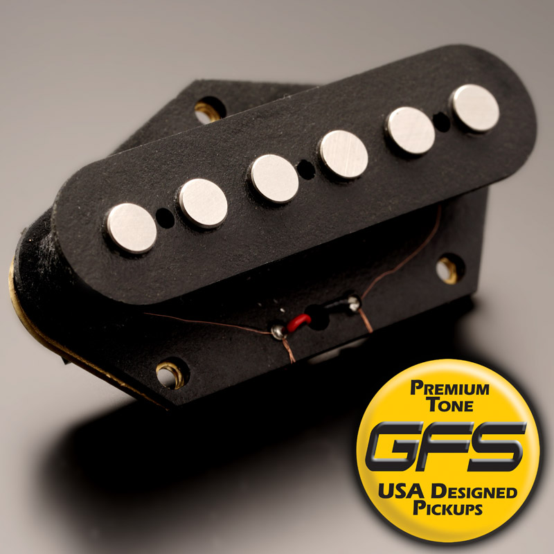 Kp - Alnico Fatbody 10k Overwound Tele Bridge Pickup