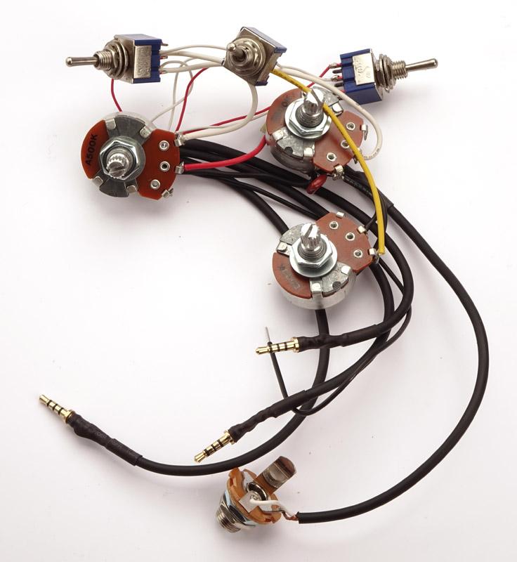 kwikplug superstrat humbucker wiring harness pre soldered drop in. Black Bedroom Furniture Sets. Home Design Ideas