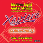 Nickel Round Wound Guitar Strings