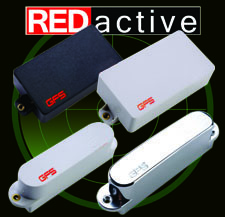 REDactives Guitar Pickups