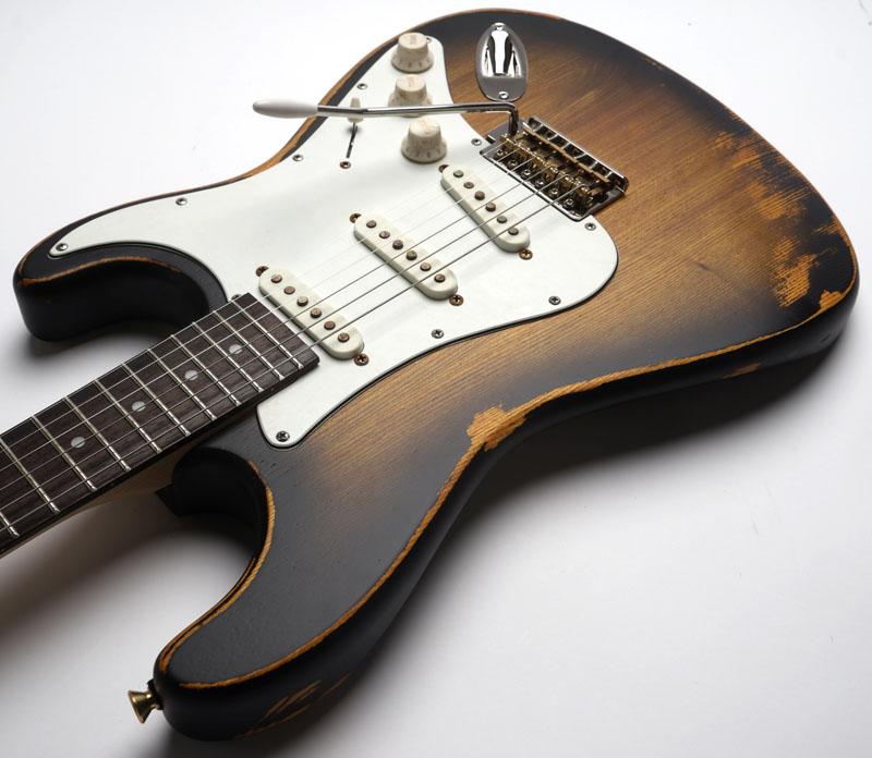 Clip On Guitar Tuner >> Slick SL57 Aged Vintage Sunburst Alnico Pickups