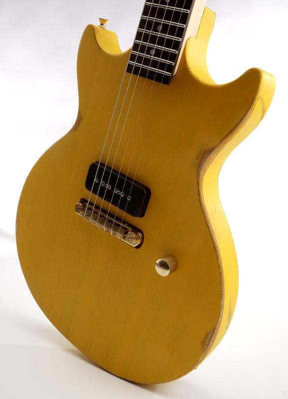 Gibson Guitars For Sale >> Slick SL59 Distressed TV Yellow Single P90 Pickup