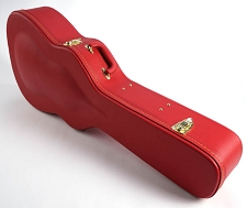 PREMIUM Red Levant Hardshell Case fits Dreadnaught PLUSh- OUR BEST!