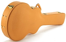 Tan Ostrich Deluxe Hardshell Case fits SG Guitars