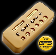 KP - GFS Gold Foil Single Coil Ferrite Soapbar, Cream - Kwikplug® Ready