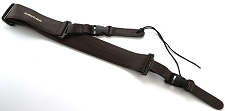 Genuine Brown Leather Quick Release Guitar Strap- 2