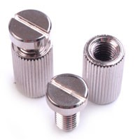 Locking Nickel Plated Screws/Studs