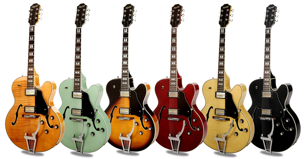 Xaviere XV-975 Big Body Jazz Guitar