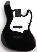 Jazz Bass Lightweight Body Gloss Black Finish