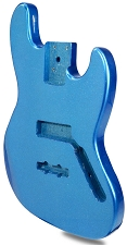 METAFLAKE SPARKLE Blue Jazz Bass Lightweight Body