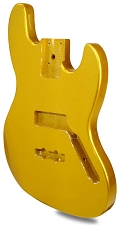 METAFLAKE SPARKLE Gold Jazz Bass Lightweight Body