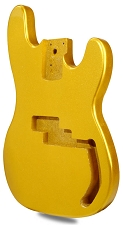 METAFLAKE SPARKLE Gold P Bass Lightweight Body