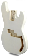 METAFLAKE SPARKLE White P Bass Lightweight Body