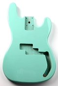 P Bass Lightweight Body Surf Green Finish