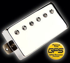 GFS professional Series Humbucker Nickel Case 3 windings available