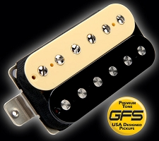 GFS professional Series Humbucker Zebra case 3 windings available