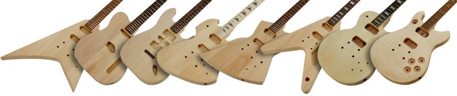 Paulownia Guitar Kit Guitar And Bass Kits