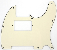 Tele Neck Humbucker Pickguard