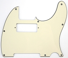 Tele Pickguard cut for neck Mini Humbucker