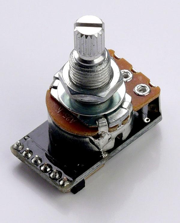 Passive Pickup Tone Pot Plug-N-Play 500k .022uf cap for Humbuckers
