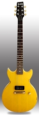 Slick SL59 Distressed TV Yellow Single P90 Pickup