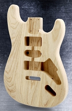 Unfinished Stratocaster Style Body HSH SOLID ASH
