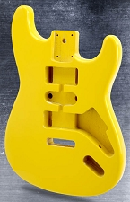 Lightweight Vintage Stratocaster Style Body Monaco Yellow