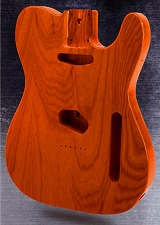 Telecaster Style Body SOLID American ASH