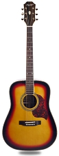 XV_180S Sunburst Solid Spruce Top Rosewood back and sides with Binding - Blem