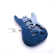 "Gloss Finished, Blue, ""Stratocaster Style"" Body, HSH"