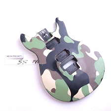 Satin Finished, Camouflage, Double Cutway Body, HH with Floyd Cut