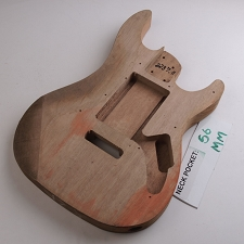 Satin Finished, Double Cutway Body, HH