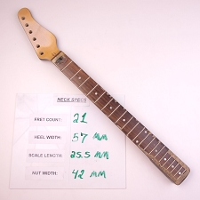 6 in Line, Satin Finished, Maple Neck with Rosewood Fingerboard